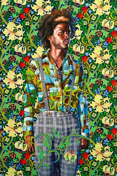 Kehinde Wiley - Contemporary Artist - Figurative & Rococo Painting - Urban Renaissance via standard.comdotuk