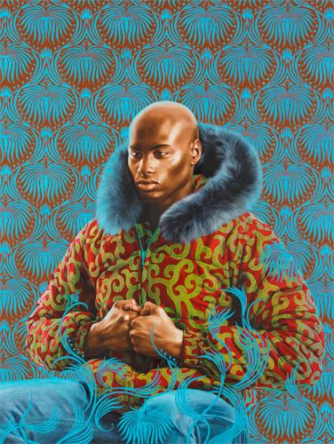 Kern Alexander Study I, 2011 By Kehinde Wiley.