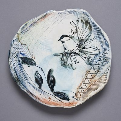 Laurie Shaman plate