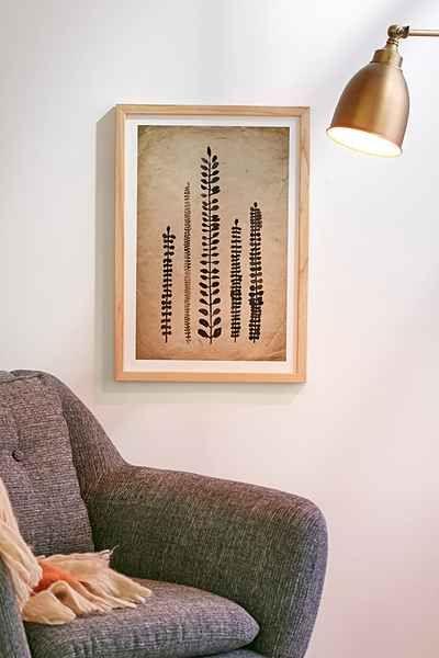 Luna Reef Rustic Ferns Art Print via urbanoutfitters