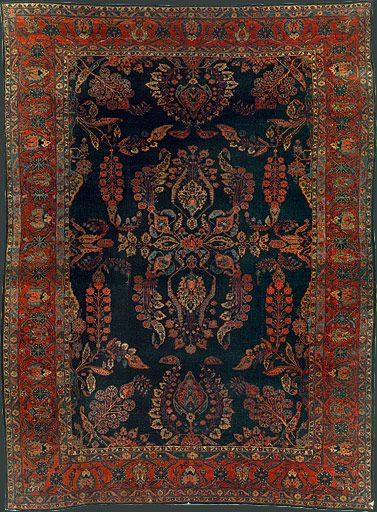Persian Mahajaran Sarouk Oriental Rug via rugs.internetrugsdotcom