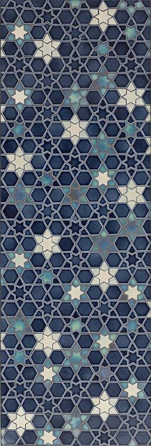 Starry Sky mosaics from Pratt & Larson via houzz