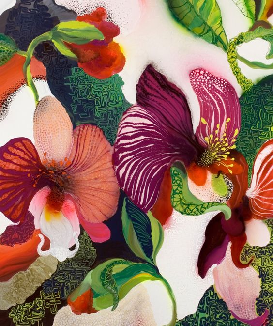 Thierry Feuz - True Technicolour Beauty via Patternbank