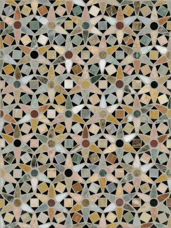 Venetian Daisy mosaic