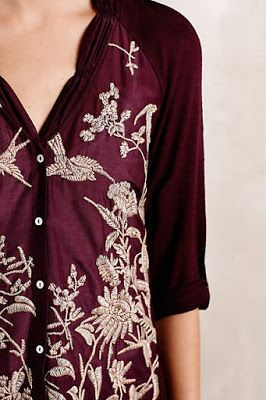 Anthropologie blouse saved from LGL