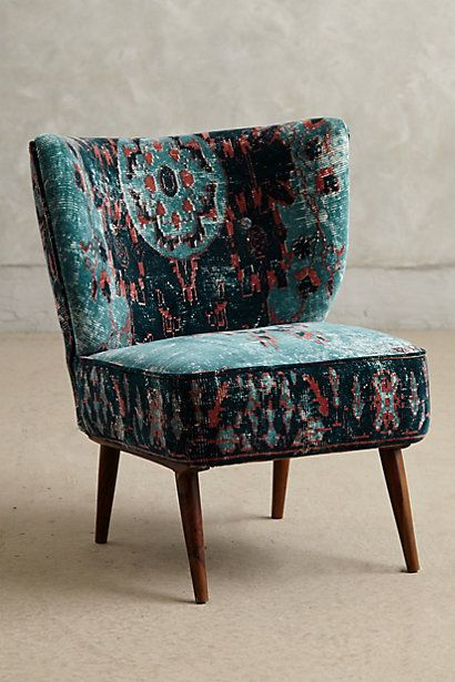 Dhurrie Occasional Chair via Anthropologie