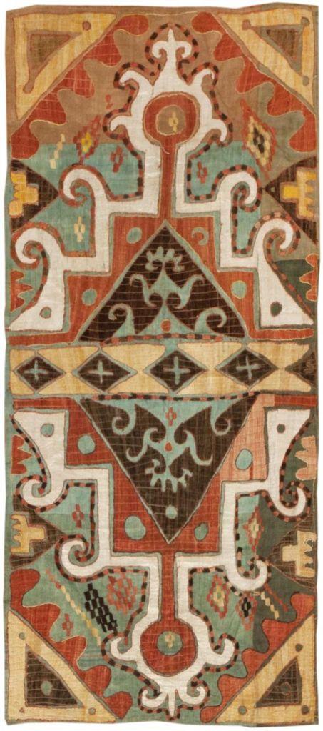 Kaitag embroidery, Caucasus, (c.1900)