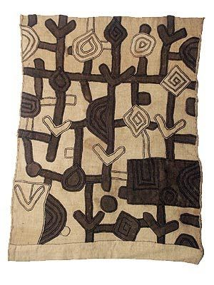 Kuba Cloth, Hamill Gallery