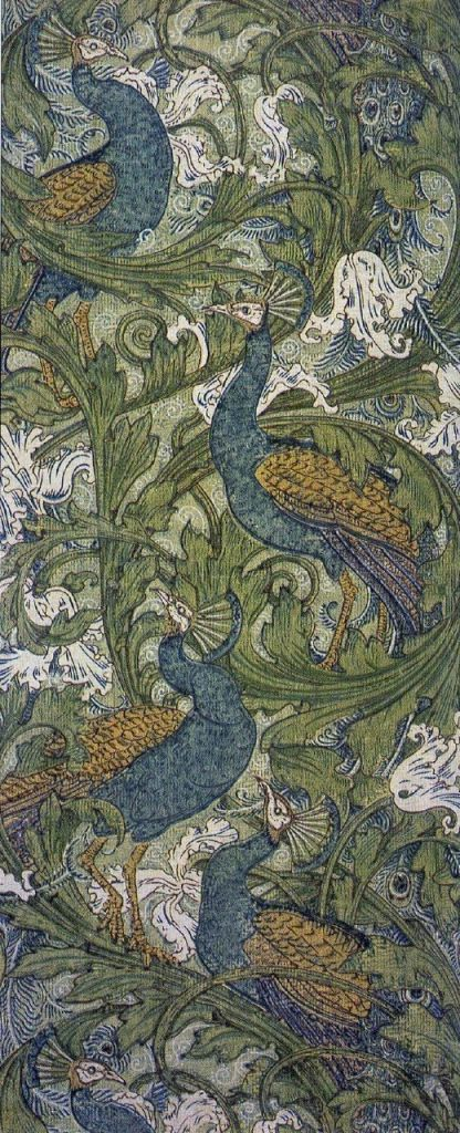 Peacock and dragon, 1878, by William Morris