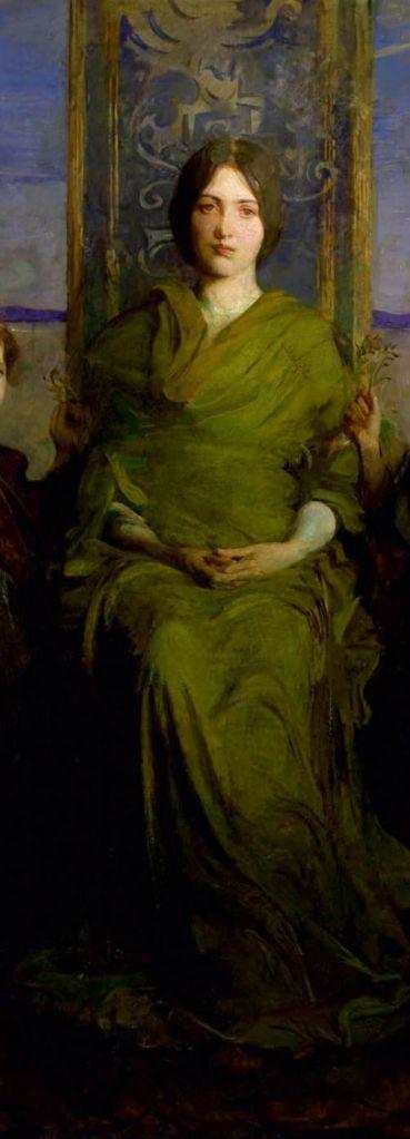 Virgin Enthroned, 1891 Oil on canvas