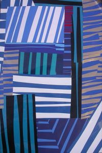 Horizontal and Vertical Line Collage. Heather Martin