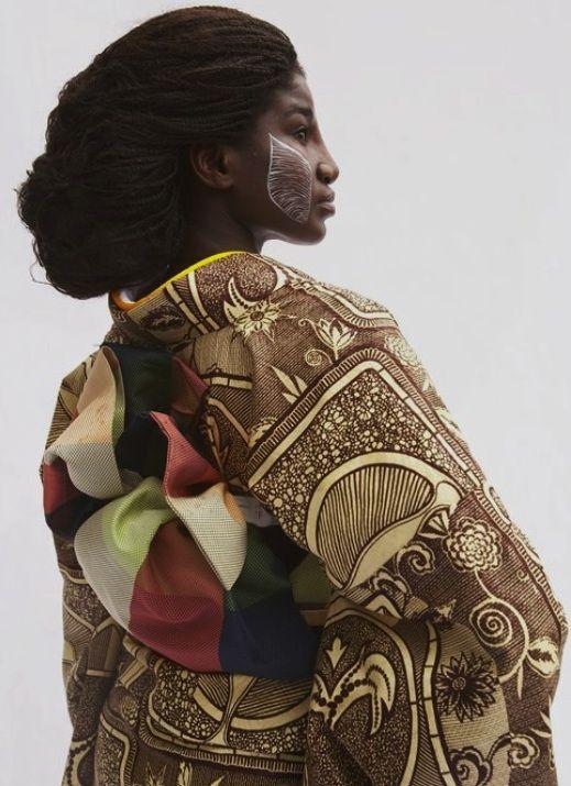 Kimono by Serge Mouangue