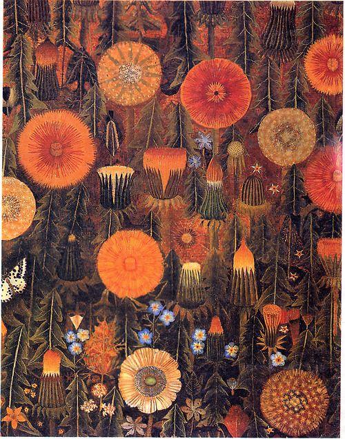 Dandelions by Sophie Grandval