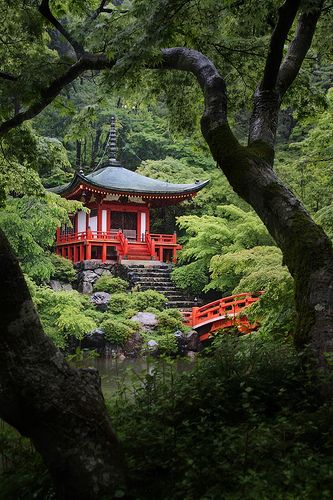 Kyoto, Japan via flickr