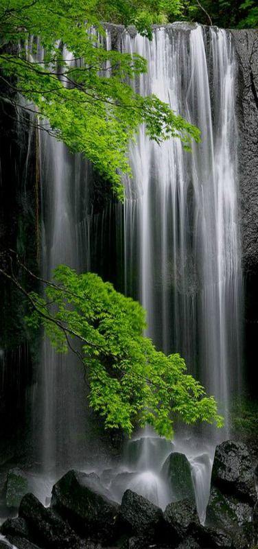 Les Paysages Asiatiques, Tatsuzawa Fudoh Falls, Fukushima, Japan via flickr