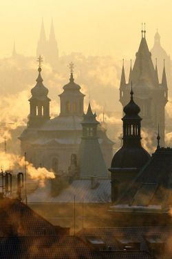 Prague, Czech Republic photo via jolevy