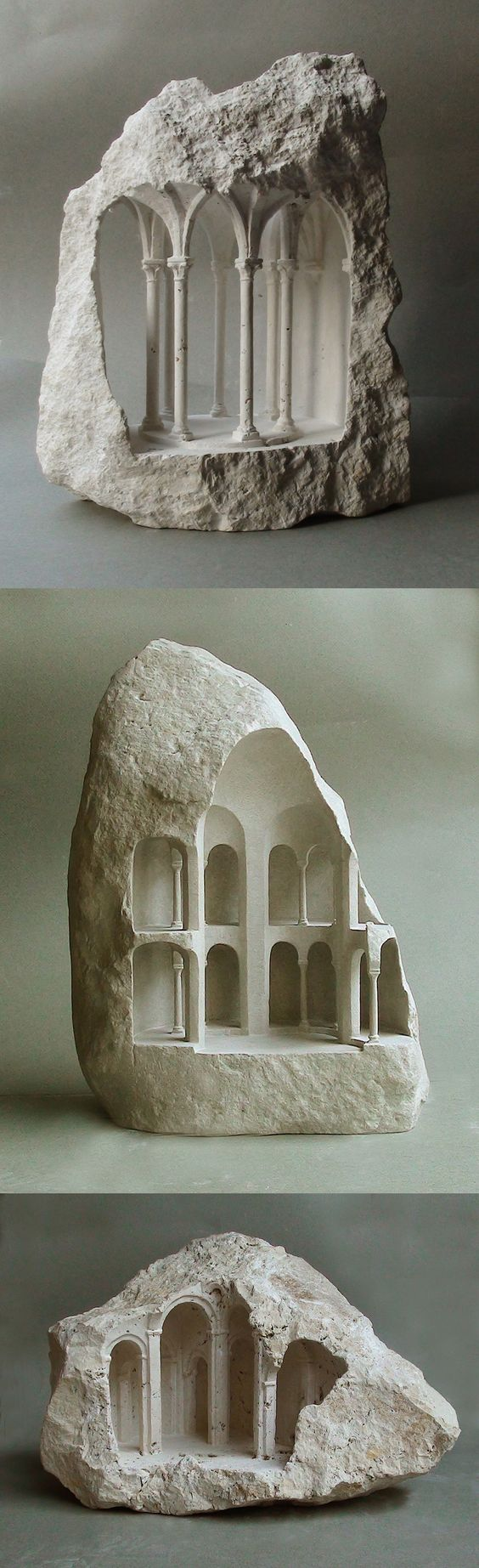 new-miniature-architectural-structures-carved-into-raw-stone-by-matthew-simmonds