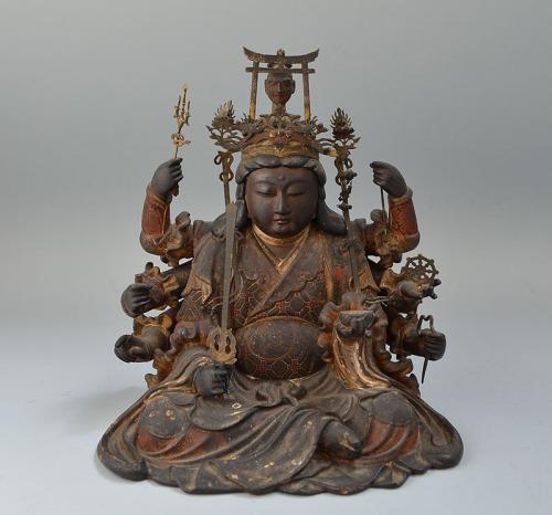 edo-p-benzaiten-buddhist-statue-via-gardenofthefareast